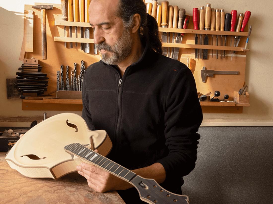 about 1 corrado giacomel mandolins guitars
