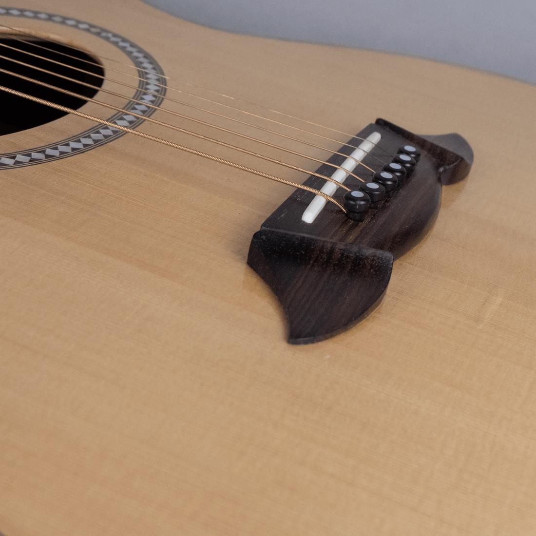 acoustic guitar rosewood bridge2