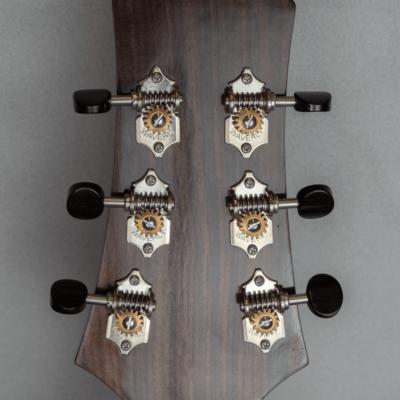 acoustic guitar rosewood headmachine
