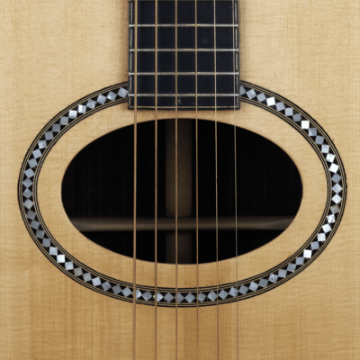 acoustic guitar rosewood ovalhole