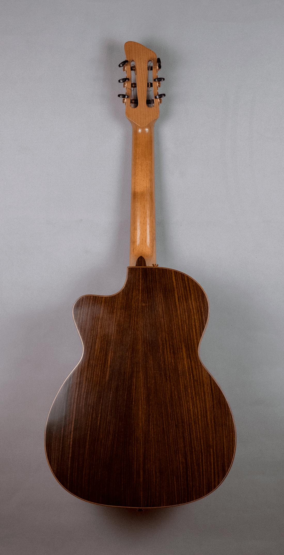 guitar acoustic nylon back