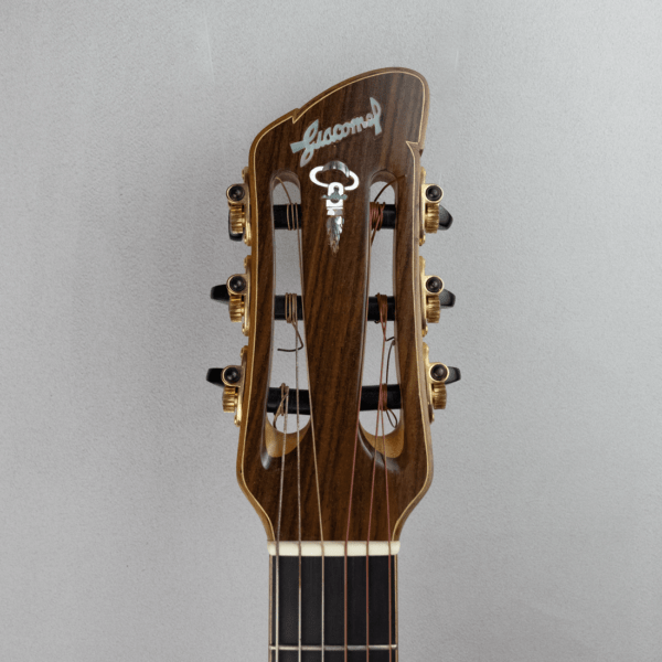 guitar acoustic nylon headstock