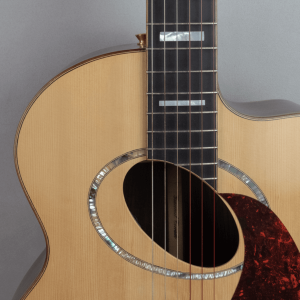 guitar acoustic nylon ovalhole