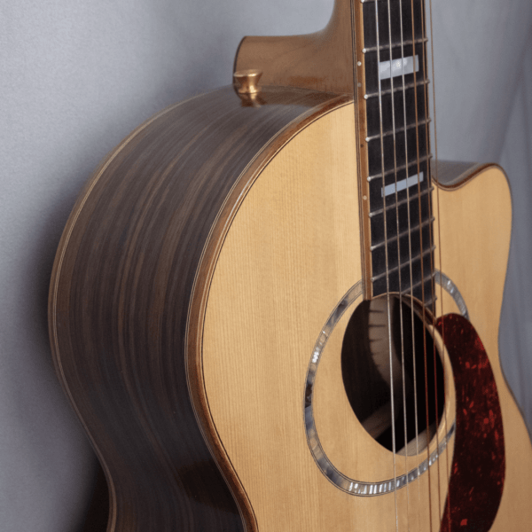 guitar acoustic nylon side