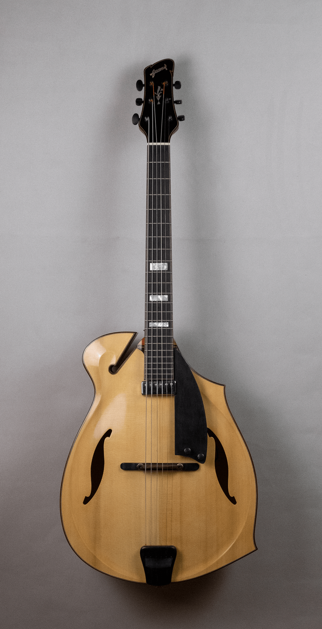 guitar jazz 5 fhole front