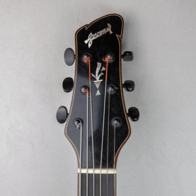 guitar jazz 5 fhole headstock