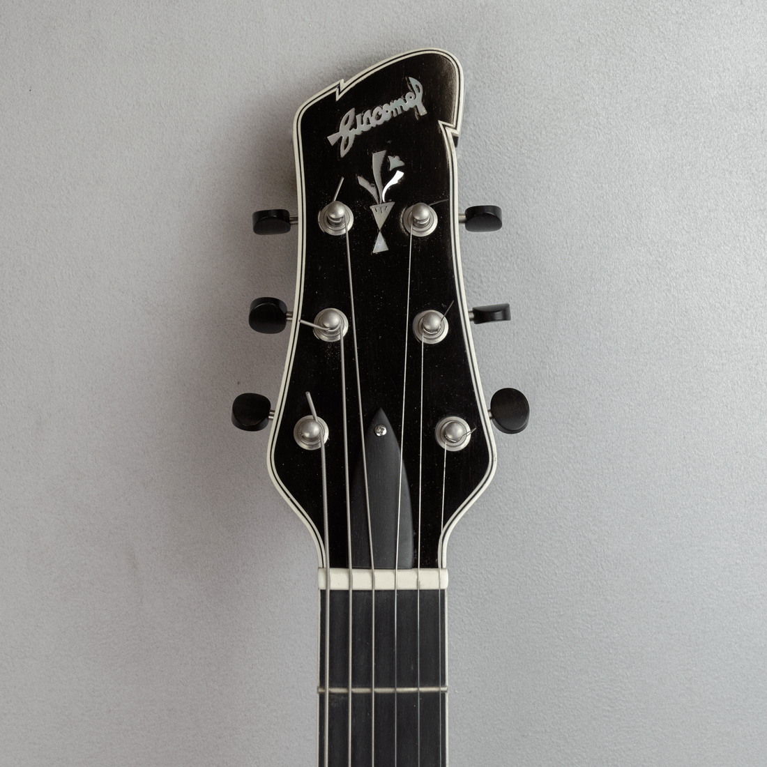 guitar standard jazz headstock