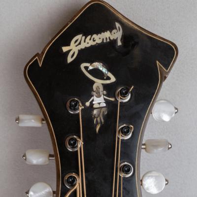mandocello jazz 5 saturno pearl inlay