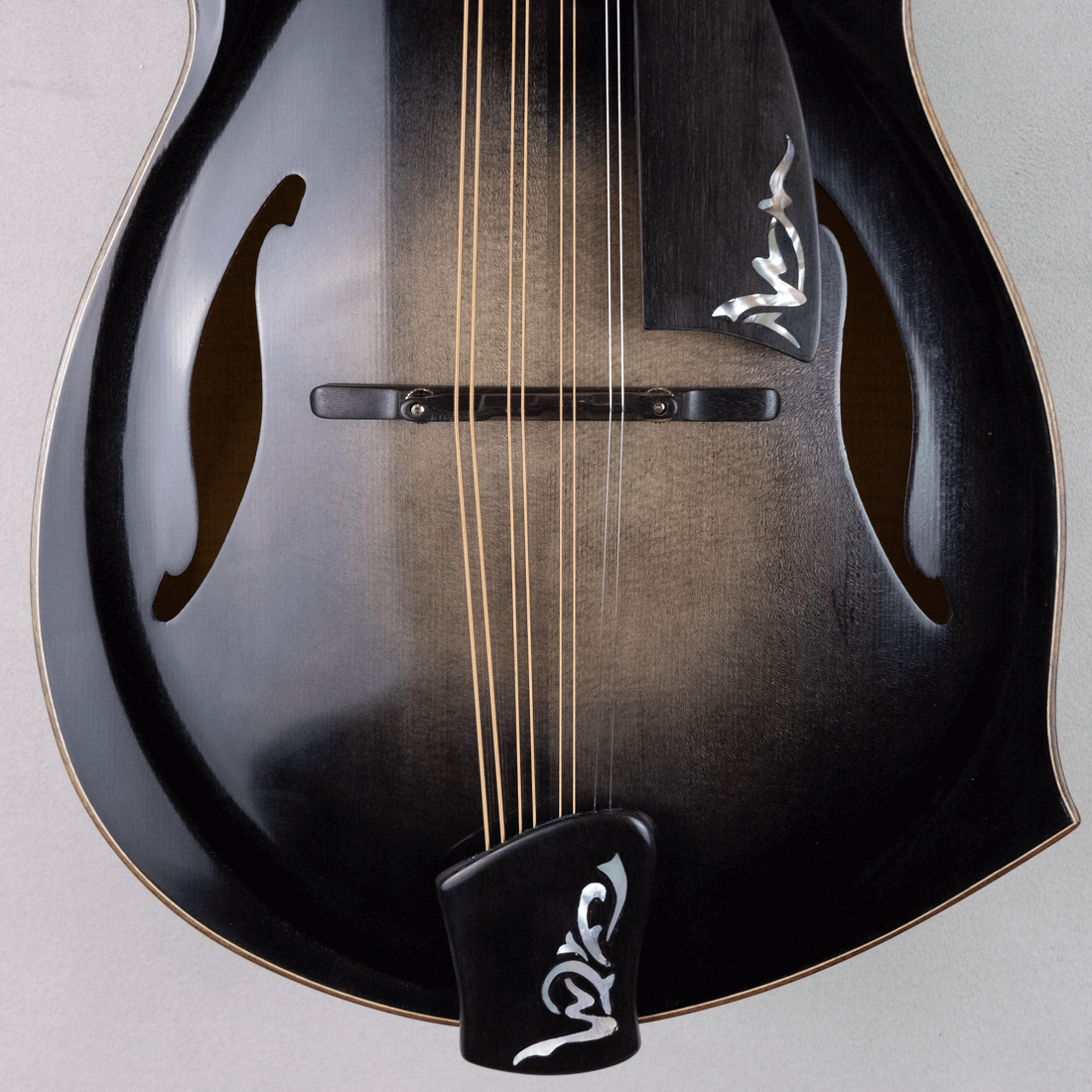 mandola jazz 5 pearl inlay
